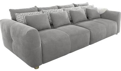INOSIGN Big-Sofa, mit Federkernpolsterung für kuscheligen, angenehmen Sitzkomfort im... kaufen
