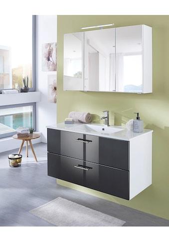 welltime Waschtisch »Trento«, Badmöbel in Breite 100 cm kaufen