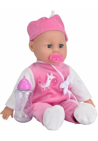 "SIMBA Babypuppe ""My Love, Laura Babysprache"" (3 - tlg.) kaufen"