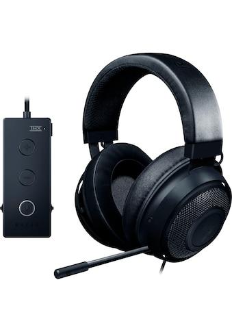 RAZER Gaming-Headset »Kraken Tournament Edition«, Kühlende Gel Ohrpolster kaufen