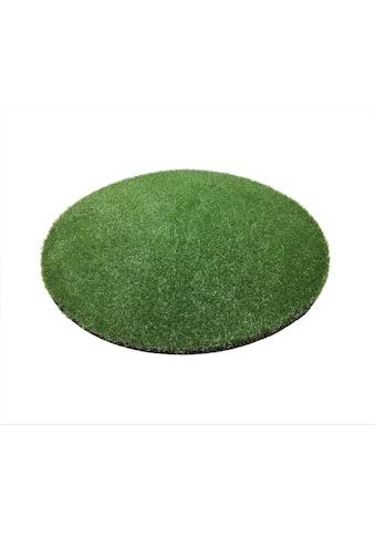 Living Line Kunstrasen »Madeira Premium«, rund, 32 mm Höhe, Rasenteppich, strapazierfähig, witterungsbeständig, In- und Outdoor geeignet kaufen