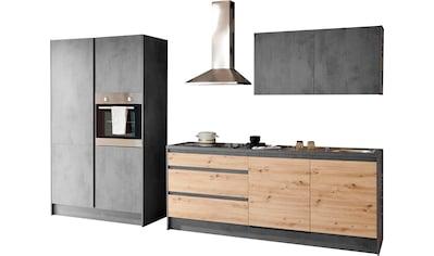 INOSIGN Küchenzeile »Isis«, (Set), ohne E-Geräte, Breite 325 cm kaufen