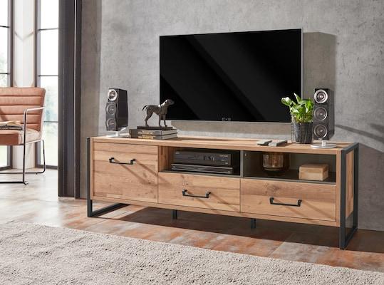TV-Lowboard in Holzoptik