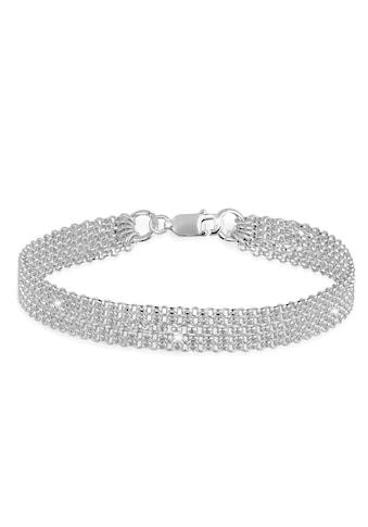 Elli Armband »Breit Glieder Basic Silber 925« kaufen
