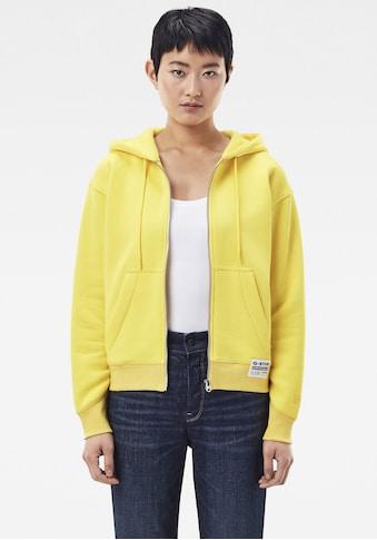 G-Star RAW Sweatshirt »Premium Core Hooded Zip Through Sweatshirt«, mit Kängurutasche... kaufen