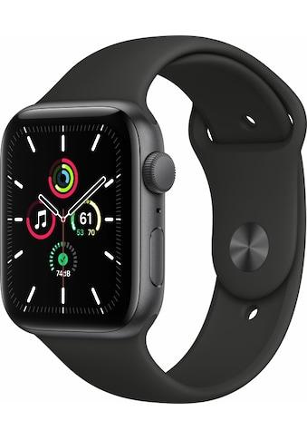 Apple Smartwatch »Apple Watch Series SE GPS, Aluminium, 44 mm mit Sportarmband«, ( ) kaufen
