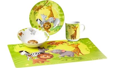 Ritzenhoff & Breker Kindergeschirr-Set »Dschungeltiere«, (Set, 4 tlg.) kaufen