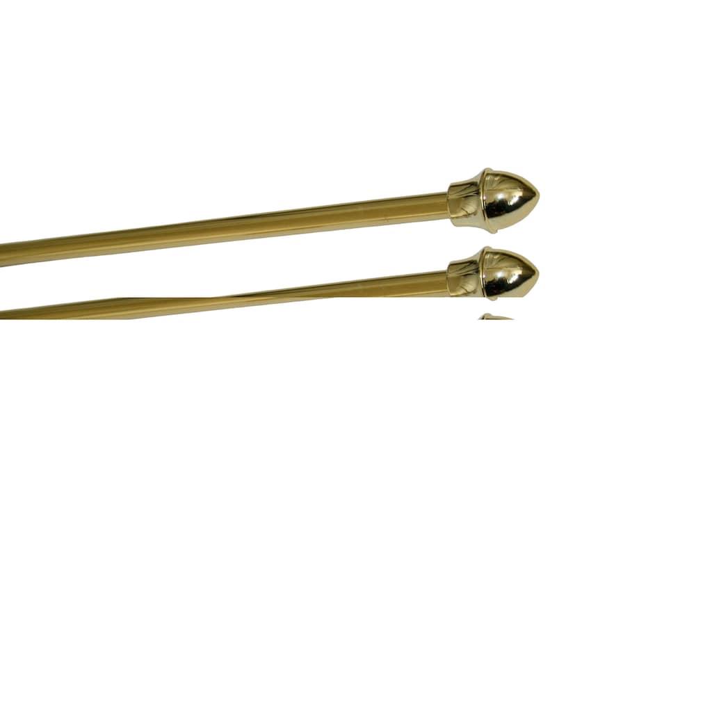 GARESA Scheibenstange »Barock«, 1 läufig-läufig, ausziehbar