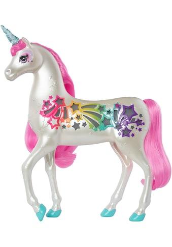 Barbie Spielfigur »Dreamtopia Regenbogen-Königreich Magisches Haarspiel Einhorn« kaufen