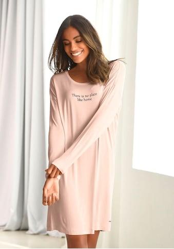 LASCANA Nachthemd, mit kleinem Schriftzug kaufen