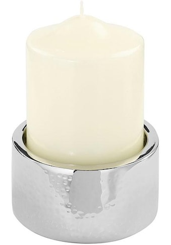 Fink Kerzenständer »SOBRIO«, Hammerschlagoptik kaufen