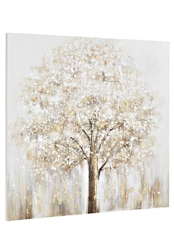 Originalgemälde Baum mit strukturierter Oberfläche kaufen