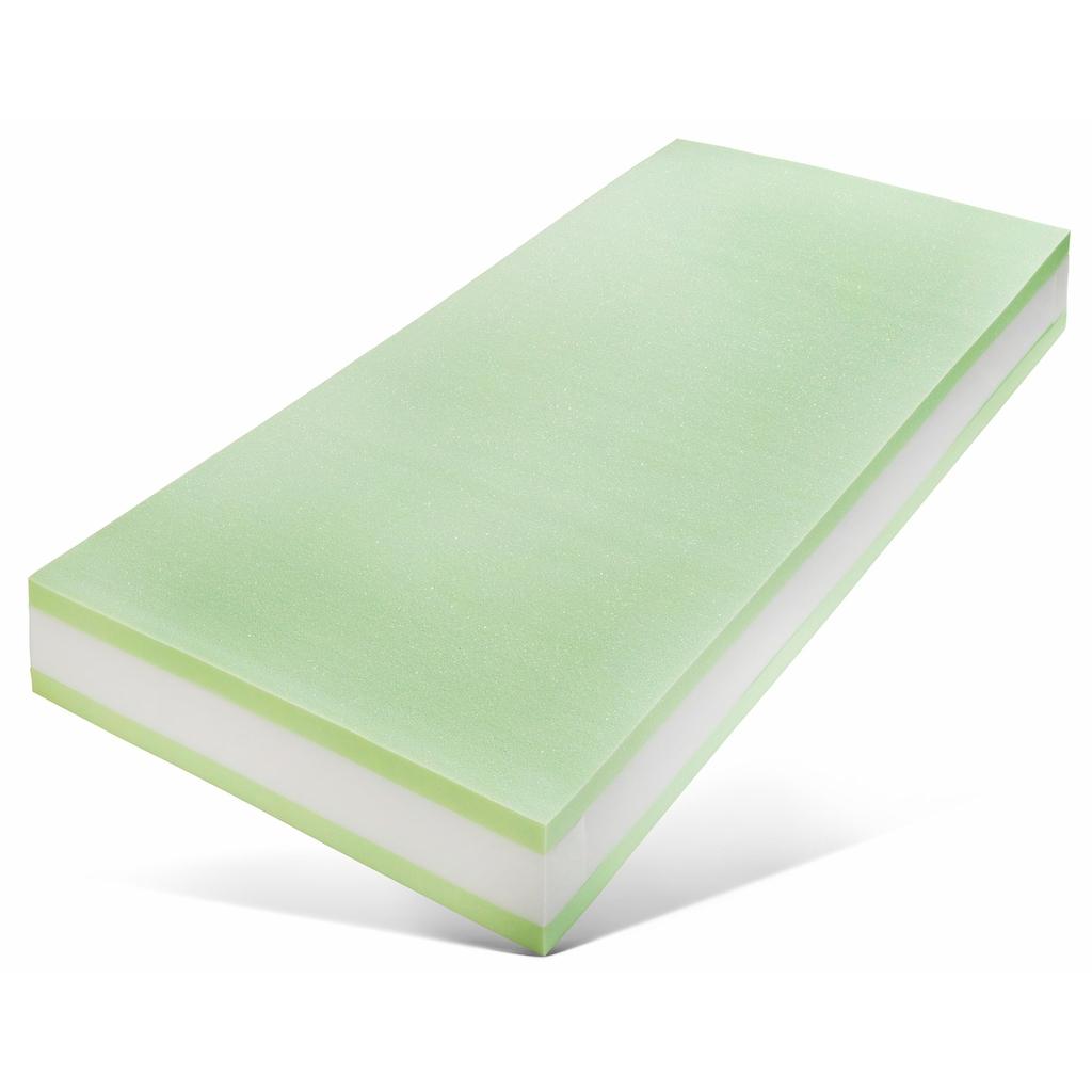Breckle Taschenfederkernmatratze »First Class«, 1000 Federn, (1 St.), 7-Zonen Taschenfederkern,angehnemer Liegekomfort, Freiraum für Entspannung