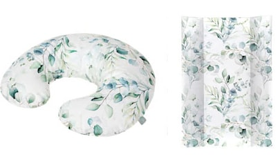 Rotho Babydesign Wickelauflage »Natural Leaves«, in Keilform; inklusive Stillkissen... kaufen