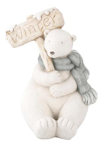 Tierfigur »Eisbär«, für den Innen- und Außenbereich, Höhe 40 cm kaufen