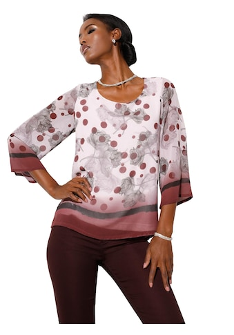 création L Bluse im stilvollen Muster - Mix kaufen