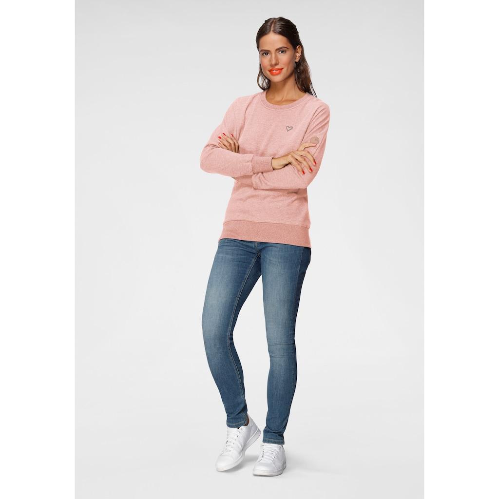 Alife & Kickin Sweatshirt »DarlaAK«, modischer Sweater mit Rundhalsausschnitt & breiten Bündchen