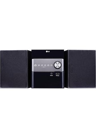 LG Microanlage »CM1560DAB«, ( Digitalradio (DAB+) 10 W) kaufen