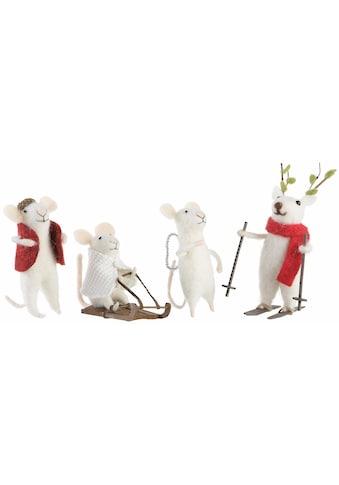 CHRISTMAS GOODS by Inge Tierfigur »Mäuse« kaufen