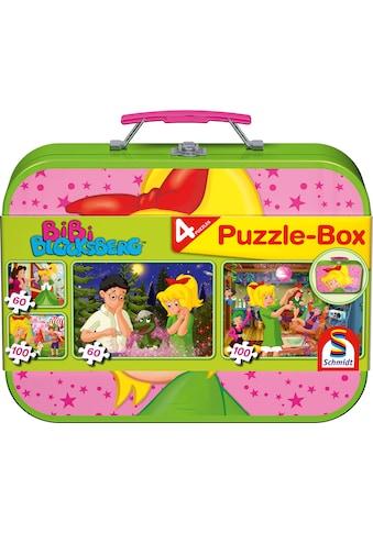 """Schmidt Spiele Puzzle """"Puzzlebox im Metallkoffer, Bibi Blocksberg™"""" kaufen"""