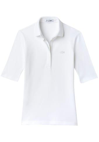 Lacoste Poloshirt, mit verdeckter Knopfleiste kaufen