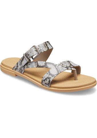 Crocs Zehentrenner »Tulum Toe Post Sandal«, mit regulierbarem Riemchen kaufen