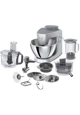 KENWOOD Küchenmaschine »MultiOne KHH326 SI«, 1000 W, 4,3 l Schüssel, Gratiszubehör im... kaufen