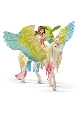 """Schleich® Spielfigur """"bayala, Surah mit Glitzer - Pegasus (70566)"""" kaufen"""