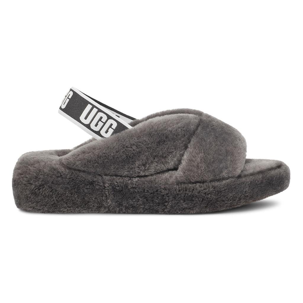 UGG Sandale »Fab Yeah«, mit coolem Gummiband mit Logodruck
