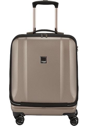TITAN® Business-Trolley »Xenon Deluxe, 55 cm, Champagne«, 4 Rollen, mit Tablet- und Laptopfach kaufen