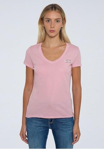 Pepe Jeans Kurzarmshirt »BLEU«, in schlichtem Design mit kleinem Marken-Logo-Print kaufen