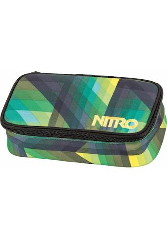 NITRO Federtasche »Pencil Case XL, Geo Green« kaufen
