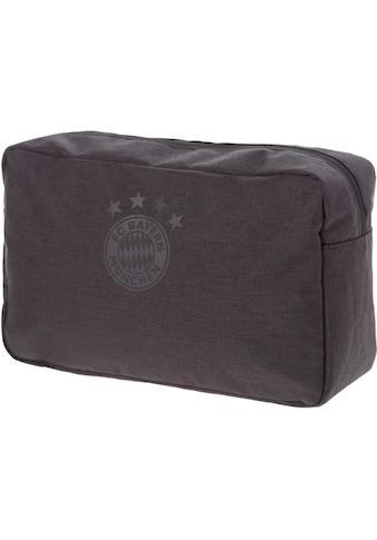 FC Bayern Kulturbeutel »FCB, anthrazit« kaufen