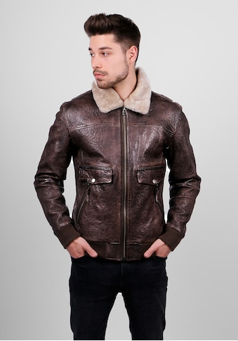 Freaky Nation Lederjacke »TheAirman - FN« kaufen