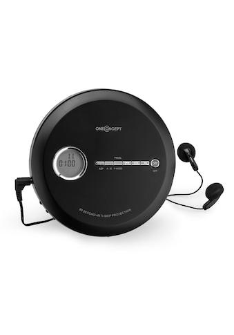 ONECONCEPT Discman CD - Player tragbar Antishock ESP MP3 CD - RW Akku »CDC - 100MP3« kaufen