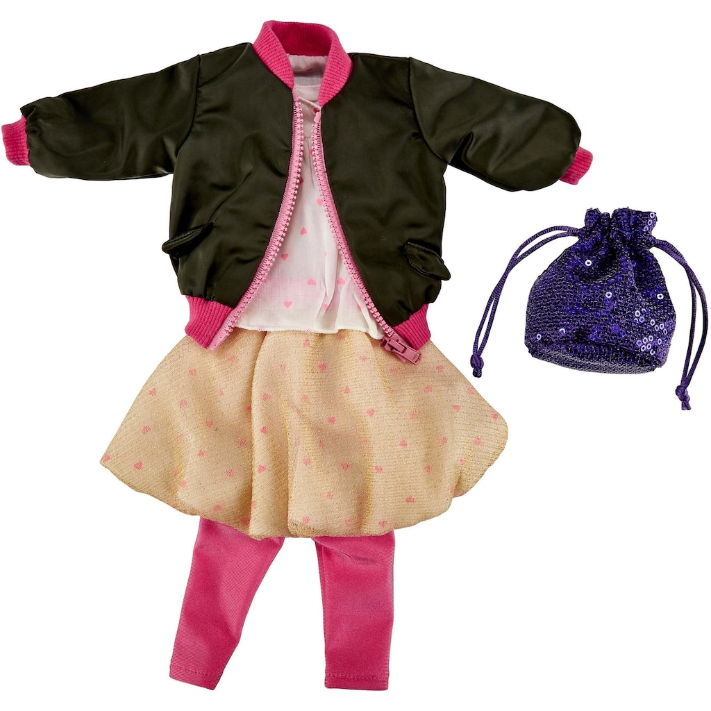Käthe Kruse Puppenkleidung »Casual Fashion Outfit«, (5 tlg.)