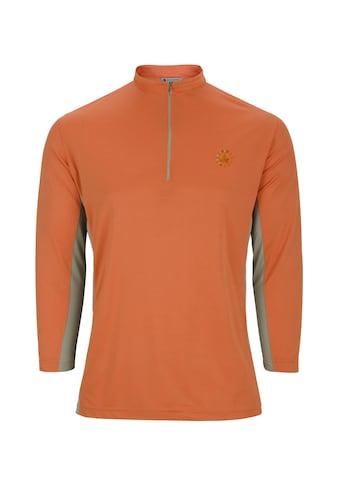 AHORN SPORTSWEAR Funktions Zip-Shirt mit kleinem Stehkragen kaufen