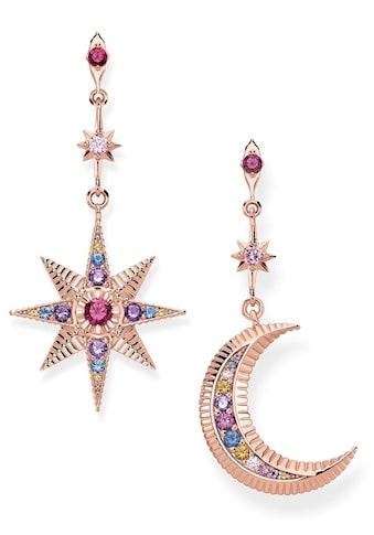 THOMAS SABO Paar Ohrstecker »Royalty Stern & Mond, H2025 - 321 - 7« kaufen