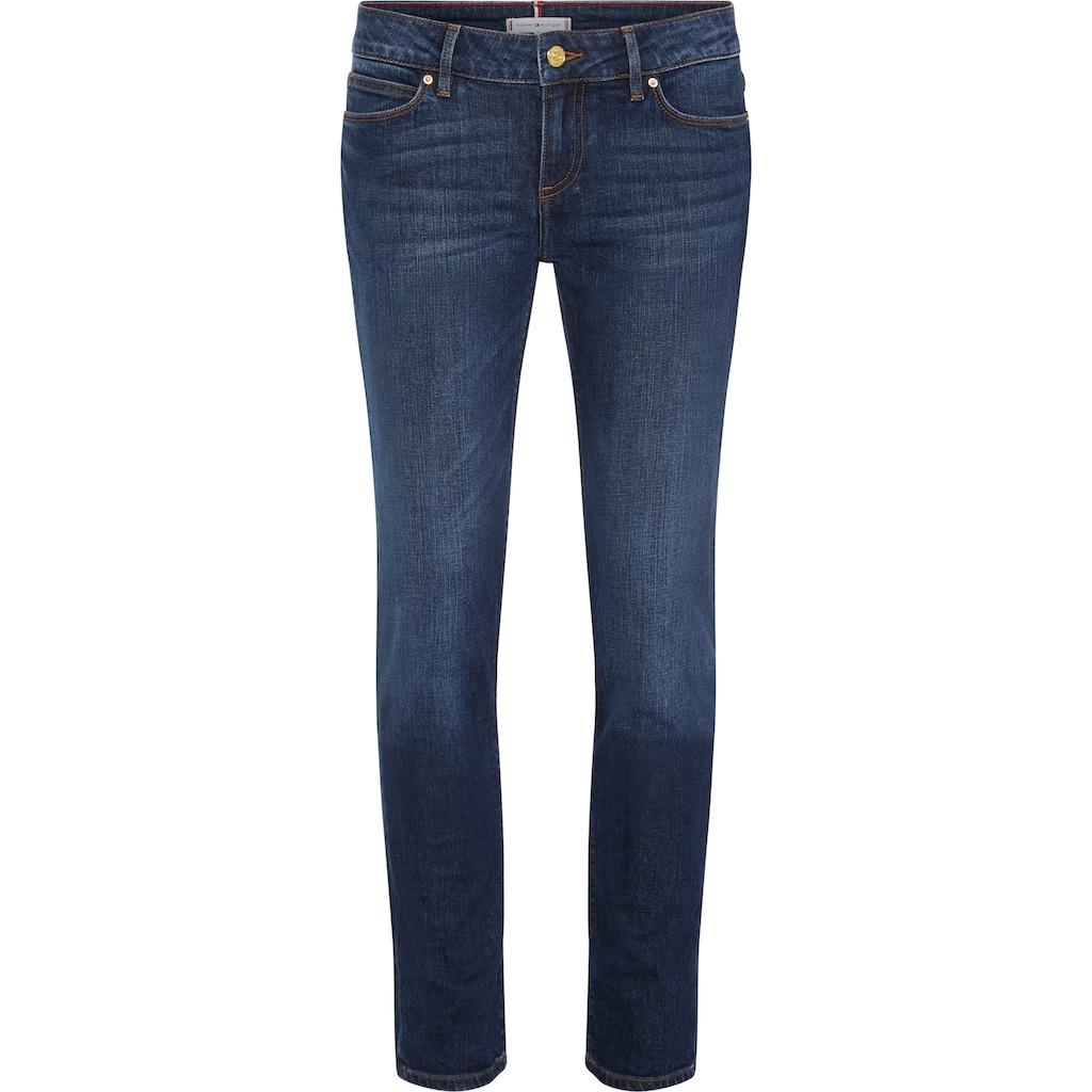 TOMMY HILFIGER Slim-fit-Jeans »HERITAGE MILAN SLIM LW«, mit Tommy Hilfiger Logo-Badge