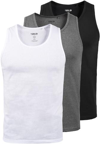 Solid Tanktop »Casal«, Ärmelloses Shirt im 3er-Pack kaufen