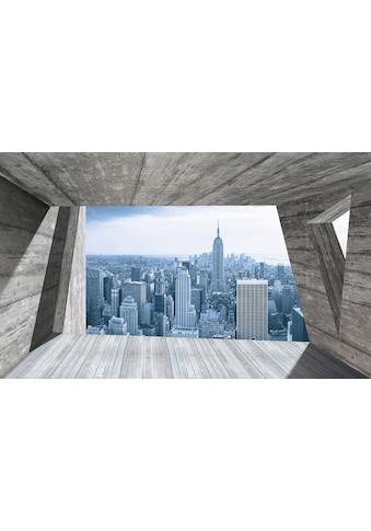 CONSALNET Fototapete »Ausblick New York«, Vlies, in verschiedenen Größen kaufen