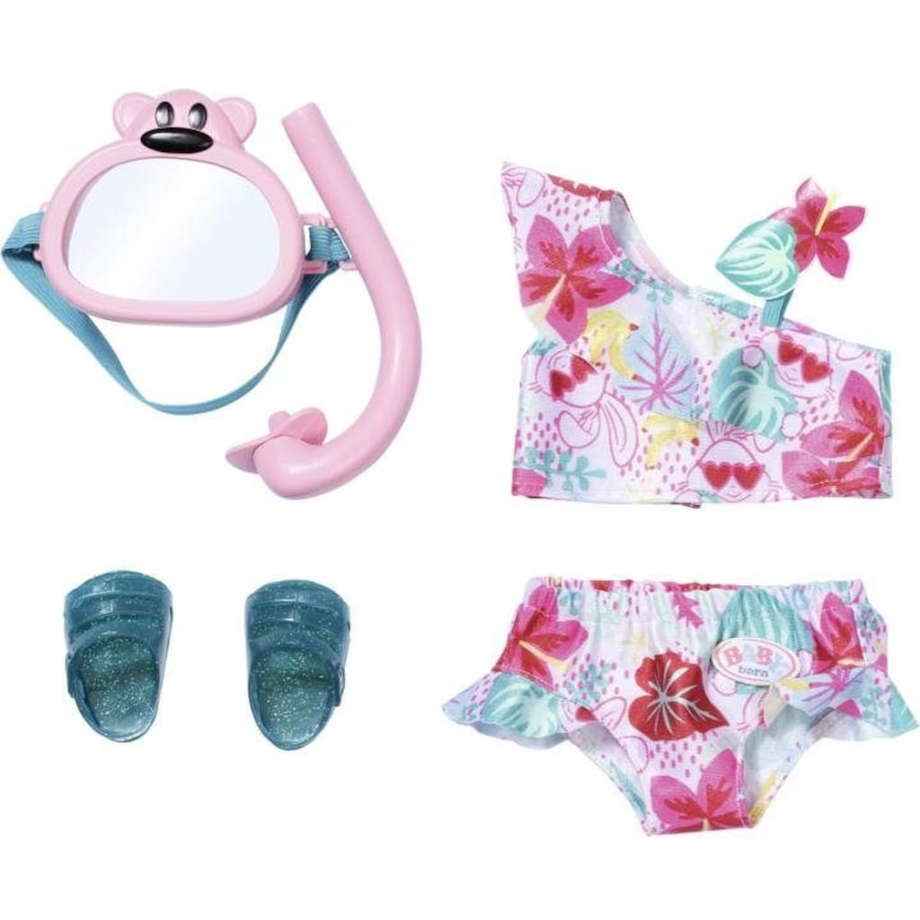 Baby Born Puppenkleidung »Holiday Deluxe Bikini Set«, (Set)
