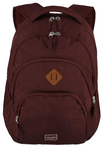travelite Laptoprucksack »Basics, bordeaux« kaufen