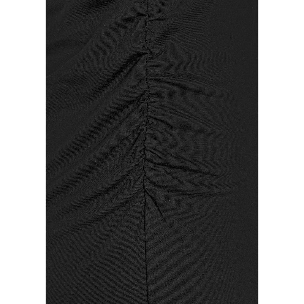 LASCANA Partykleid, mit asymmetrischem Saum