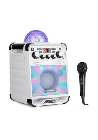 Auna LED Karaokeanlage CD-Player Bluetooth AUX 2 x 6,3mm kaufen