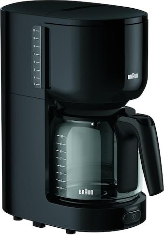 Braun Filterkaffeemaschine »KF 3120 BK«, Papierfilter, 1x4 kaufen