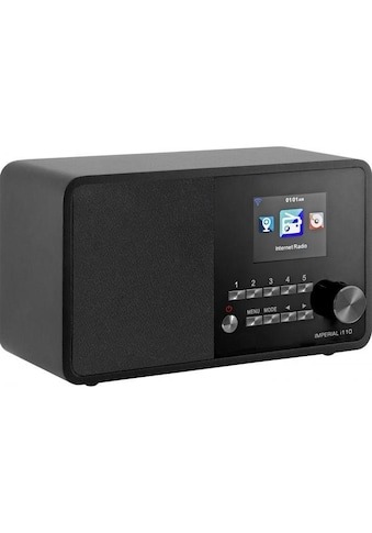 IMPERIAL by TELESTAR Internet-Radio »i110«, (WLAN-CD Internetradio ), TFT Farbdisplay-(USB, WLAN, TFT Farbdisplay; Wecker) kaufen