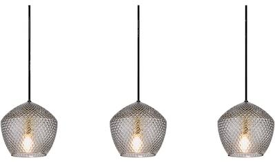 Nordlux Hängeleuchte »ORBIFORM«, E14, Struktur Glas Schirm, Messing Applikation kaufen