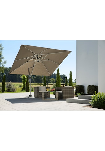 Schneider Schirme Ampelschirm »Monaco«, mit Schutzhülle und Schirmständer, ohne Wegeplatten kaufen
