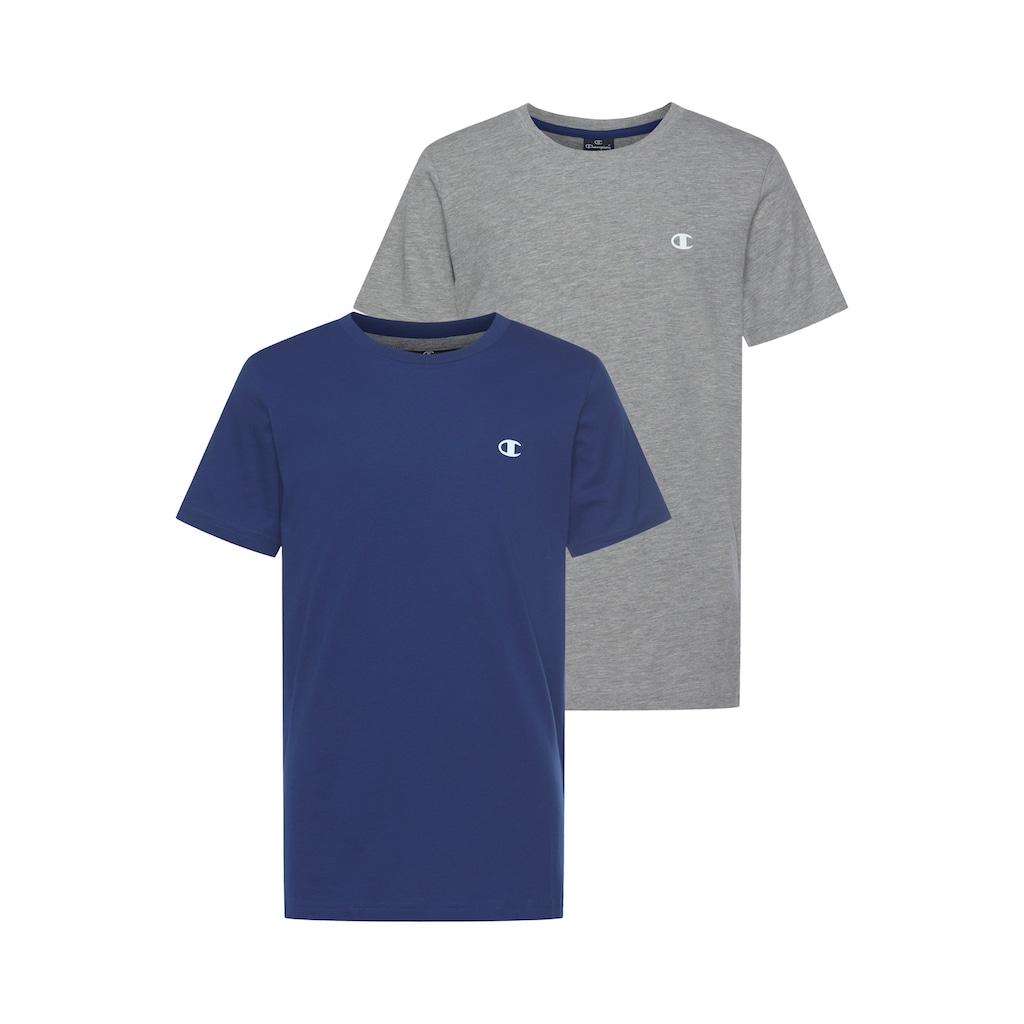 Champion T-Shirt »2 PACK CREW-NECK TEE«